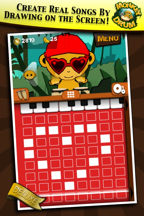 Monkey Drum Deluxe screenshot-1