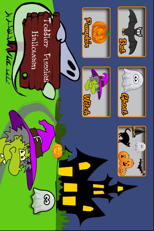 Toddler Puzzles Halloween screenshot-0