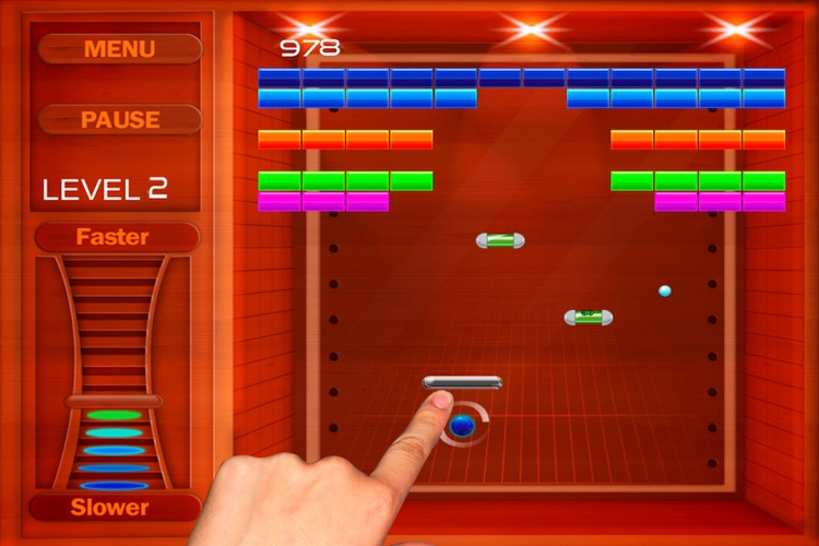 Ball And Stick Arcade Lite screenshot-3