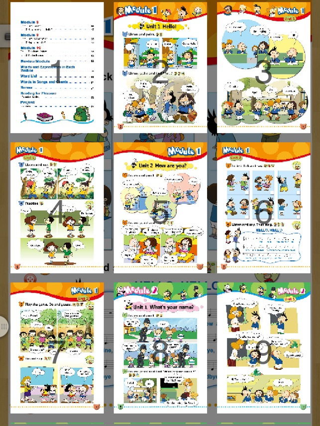 FLTRP - English E-textbook (Modules1-2 of Book1 Grade1, Primary