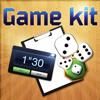 Game Kit (Minuteur, tapis de dés, feuille de scores)