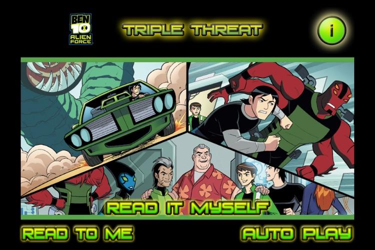 Ben 10 Triple Threat - Children's Book