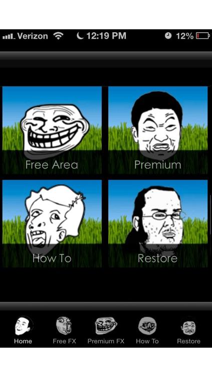 Rage ME! Add a rage comic or meme head to any photo.