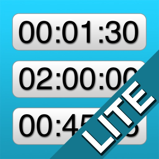 Easy UP/down Timers LITE iOS App