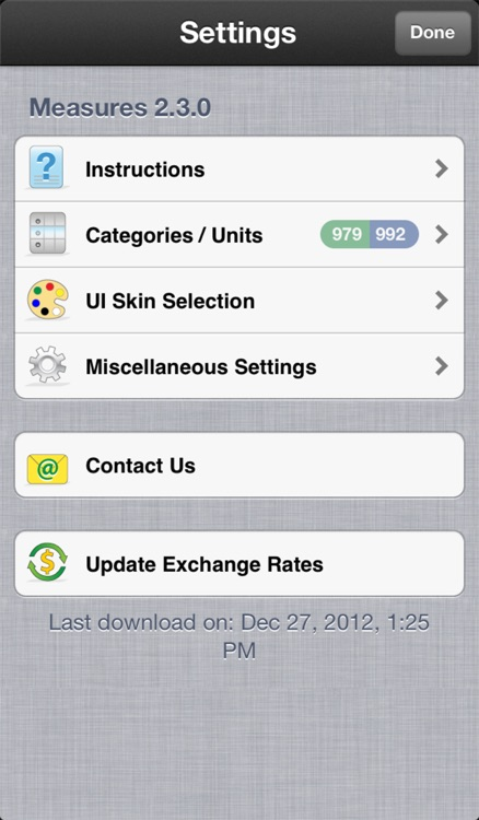 Measures - Unit and Currency Converter screenshot-3