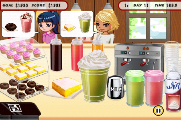 Coffee Cafe screenshot-1