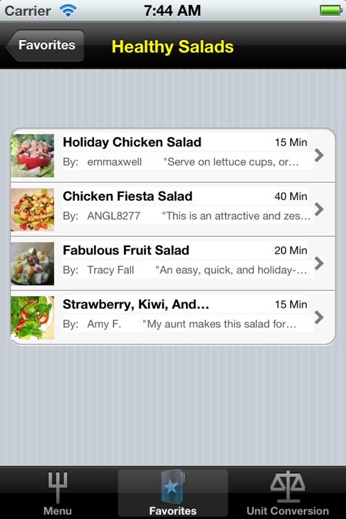 Healthy Recipes screenshot-4