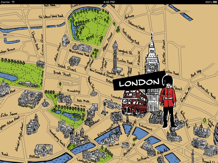 London Map Guide.London Map Guide Hd By Imas