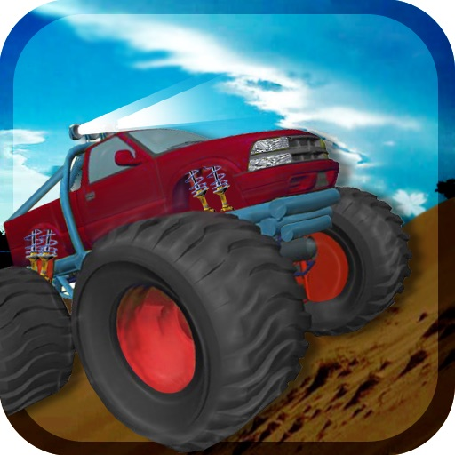 Desert Monster Truck Madness icon
