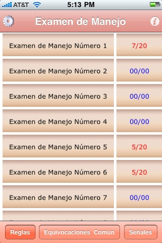 examen de conducción screenshot-1