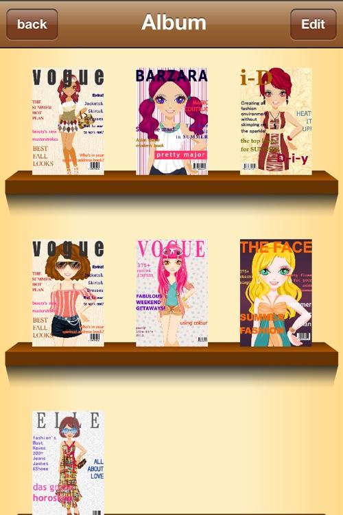 Cover Girl - Dress up and makeup game screenshot-4