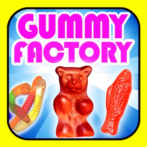 Gummy Factory for iPad icon