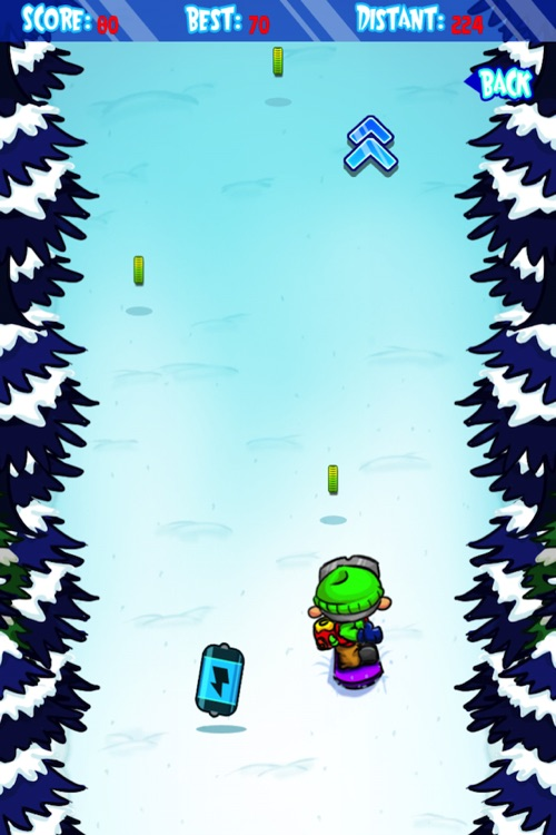 Ski Land Madness Lite screenshot-3