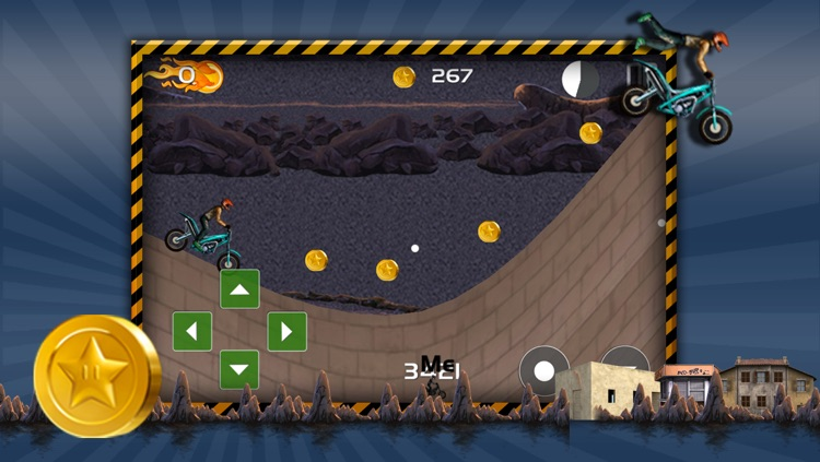 Action Motorcycle Hill Race Xtreme - Dirt Bike Trail Top Free Game