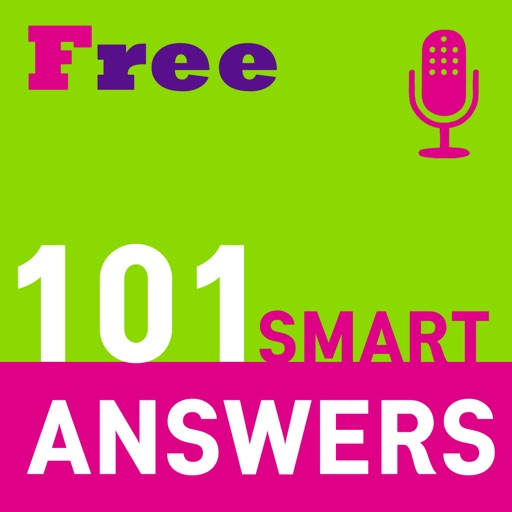 101 Smart English Interview Answers Lite iOS App