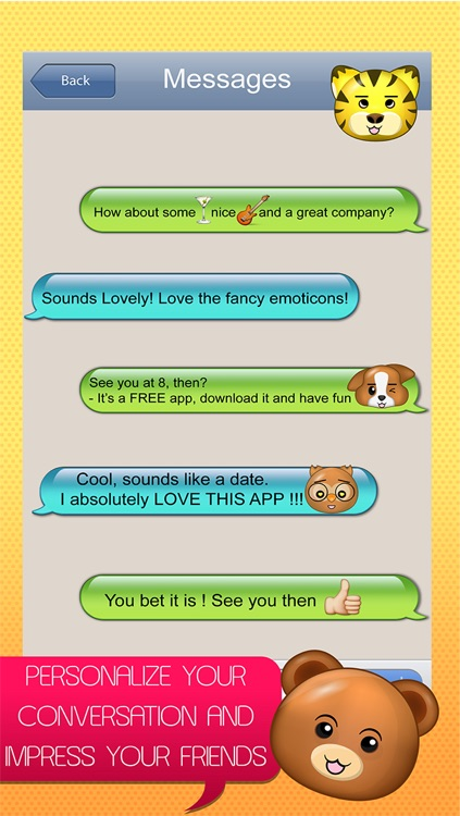 BigMojis Free - Very Large Emoji Stickers screenshot-2