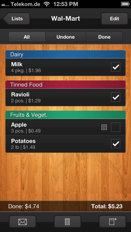 shopping apps for iphone shopping list grocery list by hensoft 2374