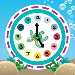 What time is it? Learning games for children to learn to read the clock