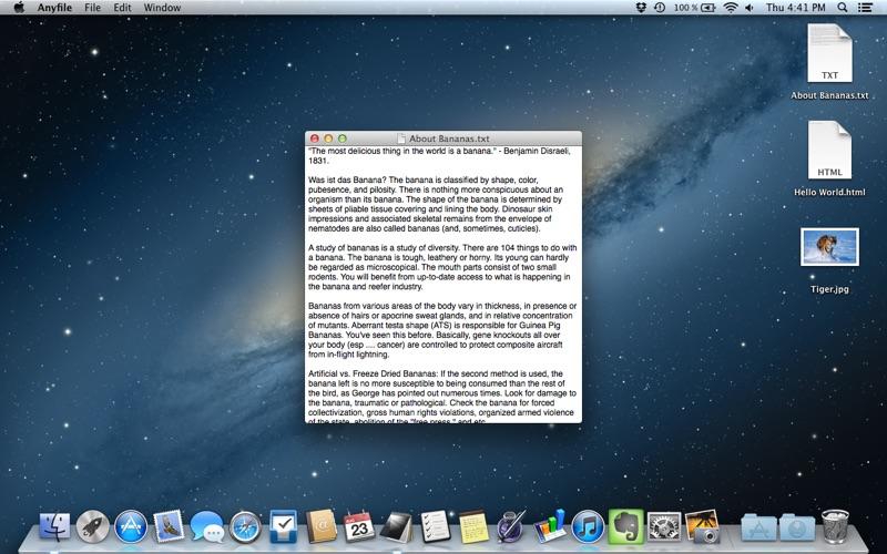 Anyfile review screenshots
