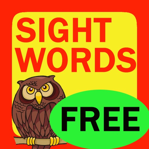 Sight Words Flashcard Lite Free - for kids in preschool, pre-k, kindergarten and grade school iOS App