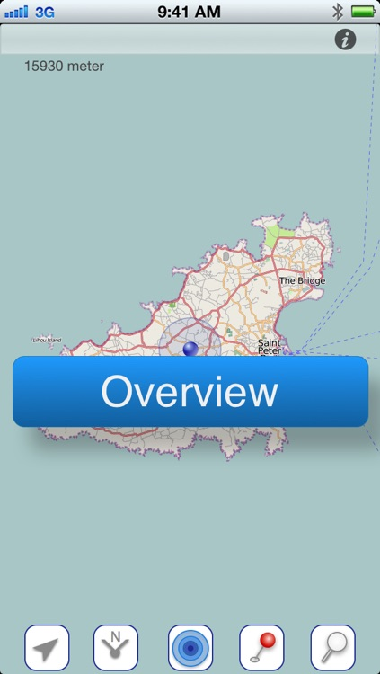 Guernsey Offline Map screenshot-1