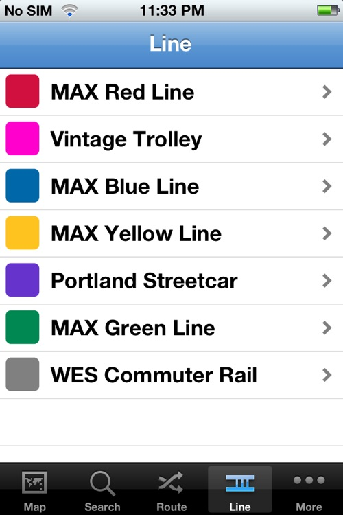 TransitGuru Portland TriMet MAX screenshot-1