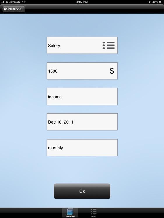 Account Book HD screenshot-4