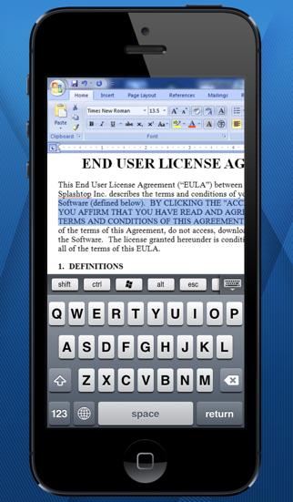 Splashtop for Good Technology ScreenShot3
