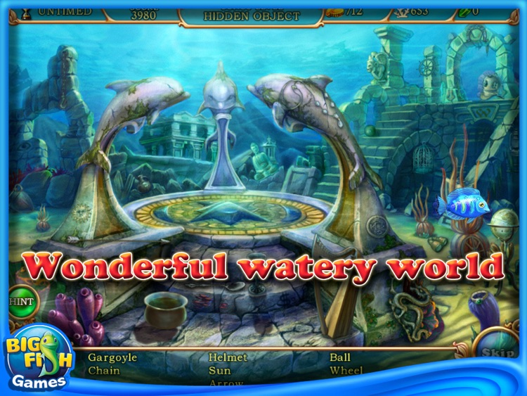 Hidden Wonders of the Depths 3: Atlantis Adventures HD screenshot-2
