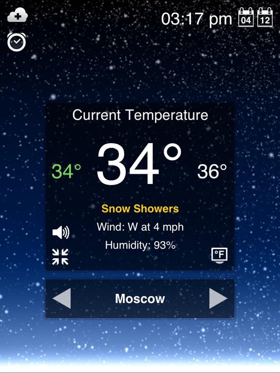 Weather Motion HD screenshot-3