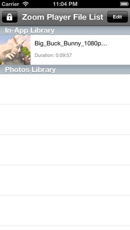 Zoom Zoom Player screenshot-4