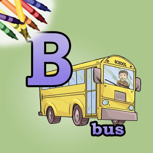 Alphabet Coloring Book!
