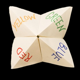 Chatterbox A paper fortune teller