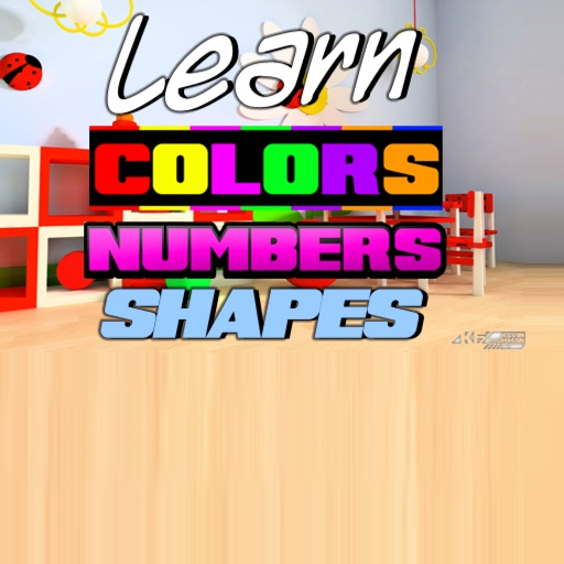 Learn Colors, Numbers, and Shapes for Toddlers (3-in-1)