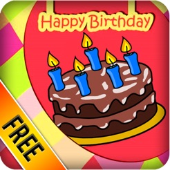 make birthday greeting cards free をapp storeで