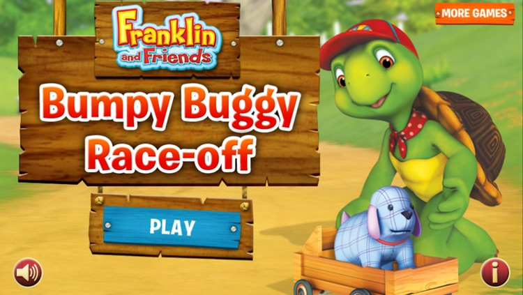 Franklin's Bumpy Buggy Race-Off screenshot-0