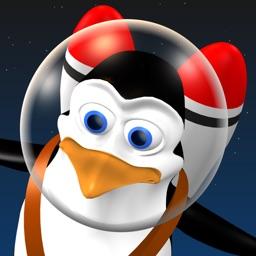 Doodle Space Pingouin