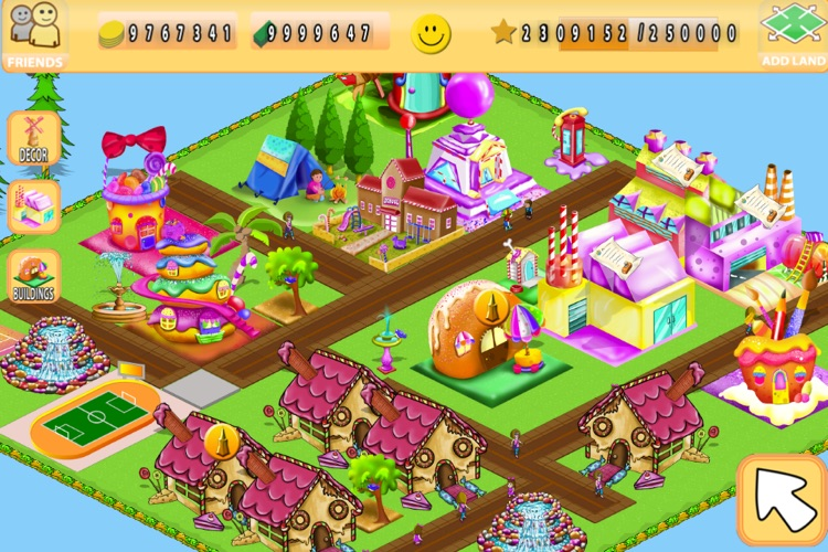 Candy Town + screenshot-1