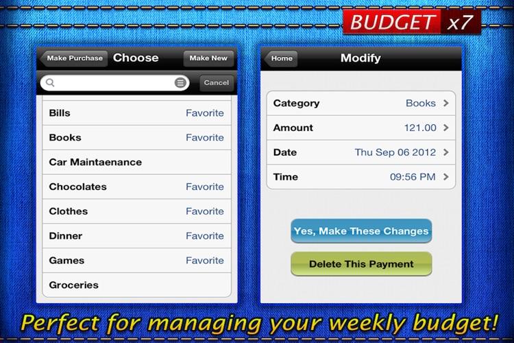 Budget x7 Lite screenshot-4