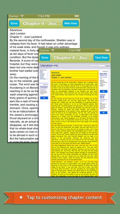 Web2Book - Pack Web Pages to iBooks epub Book screenshot-3
