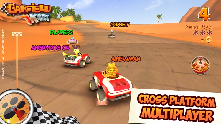 Garfield Kart screenshot-3
