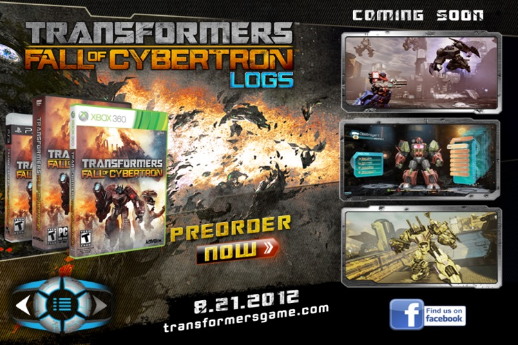 Transformers Fall of Cybertron Logs screenshot-4