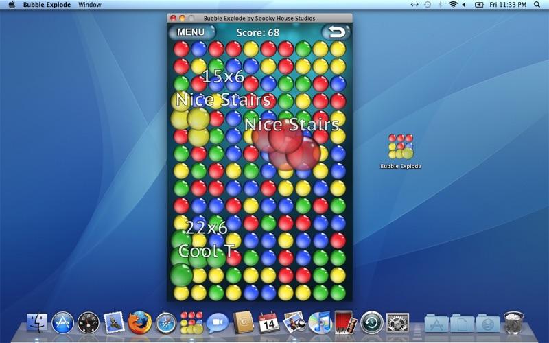 BubbleExplode Screenshot