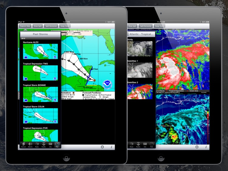 NOAA Hurricane Center HD screenshot-4