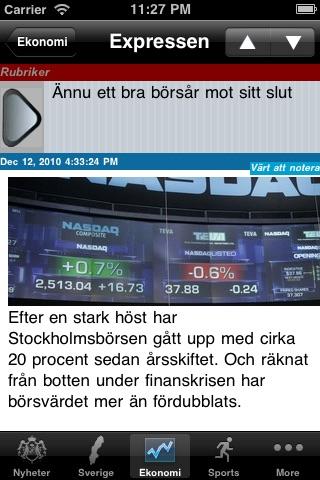 Sweden News, Swedish Nyheter