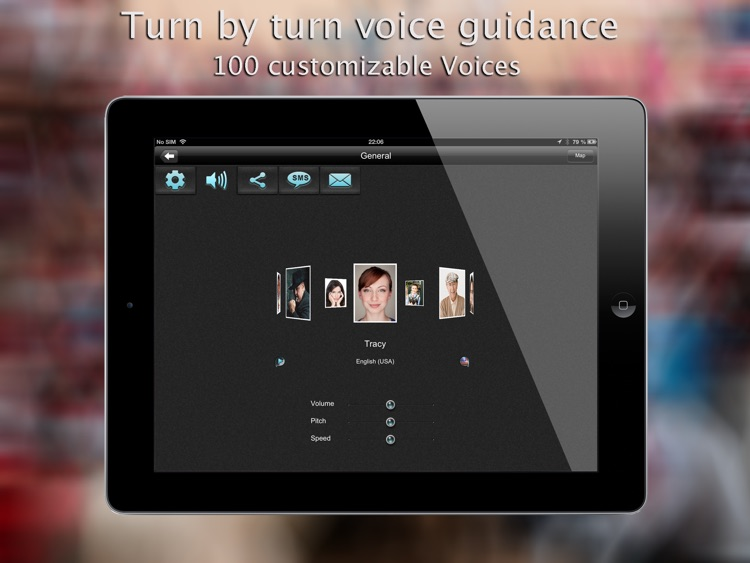 iWay GPS Navigation for iPad - Turn by turn voice guidance with offline mode screenshot-4