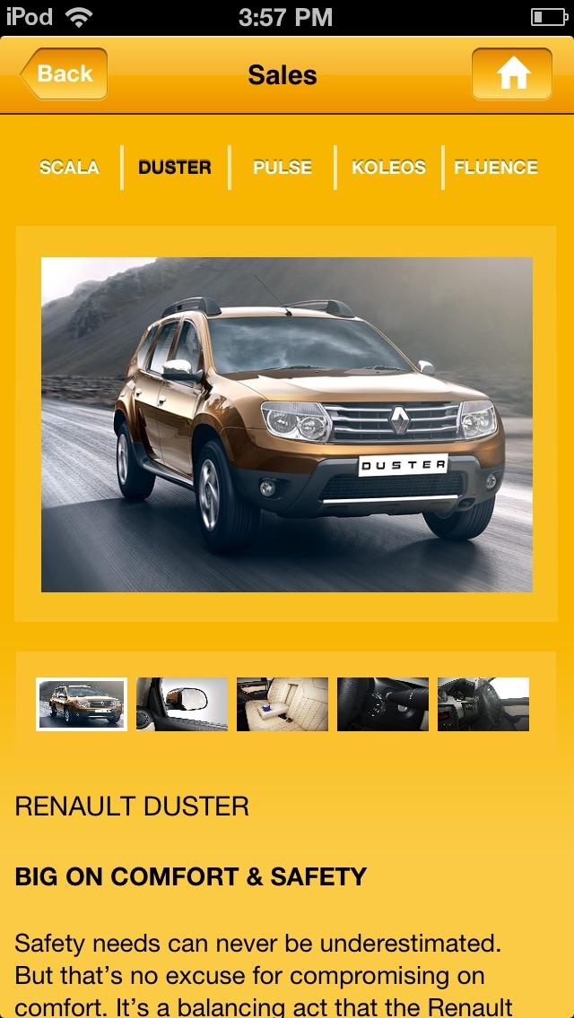 Renault Karnavati screenshot three