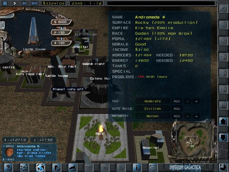 Imperium Galactica 2 screenshot-4