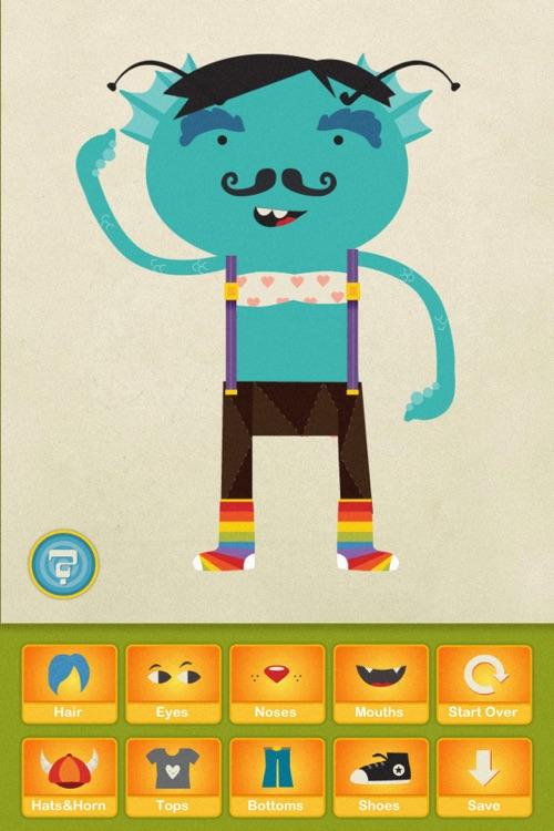 Dibu's Monster Maker screenshot-3
