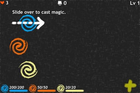 Finger Magic Defence screenshot 2